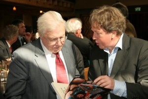Sir David Attenborough receives AYB Picture Fotopersdienst Holland Cor Lakerveld
